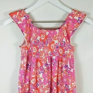 Faded Glory Large Girls Multicolor Floral Dress